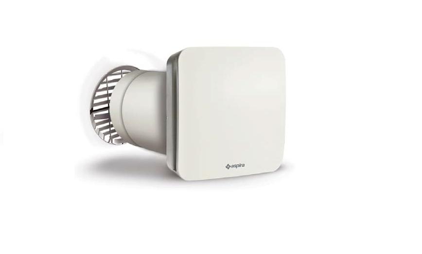 Unitate Aspira ECOCOMFORT SAT 160 fir ventilatie cu recuperare de caldura