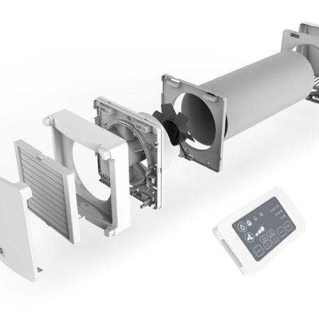 Unitate NovingAIR de ventilatie cu recuperare de caldura descentralizata