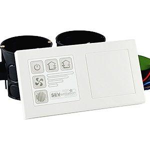 Automatizare SEC20BF cu senzor umiditate pentru unitatile cu recuperare de caldura Sevi 160