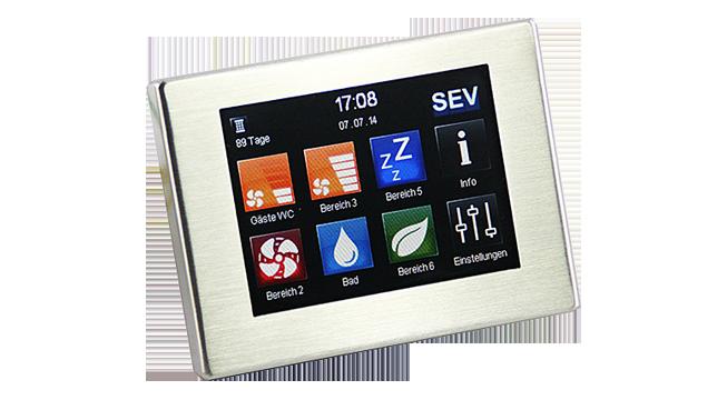 Automatizare Touch, cu senzor umid+App pentru unitatile Sevi160