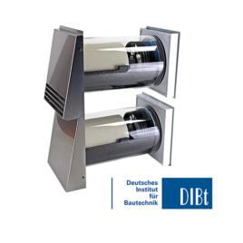 Unitate Sevi160 DUO de ventilatie cu recuperare de caldura 480 mm