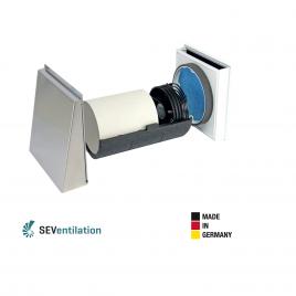 Unitate Sevi160 de ventilatie cu recuperare de caldura 480mm