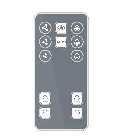 telecomanda active pentru unitatea NovingAIR Active 150 RF de ventilatie cu recuperare de caldura