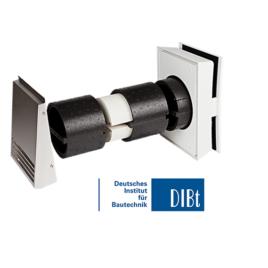 Unitate Sevi 160 Duo Mini de ventilatie cu recuperare de caldura 480mm