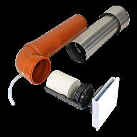 Unitate Sevi160 de ventilatie cu recuperare de caldura pentru pivnita