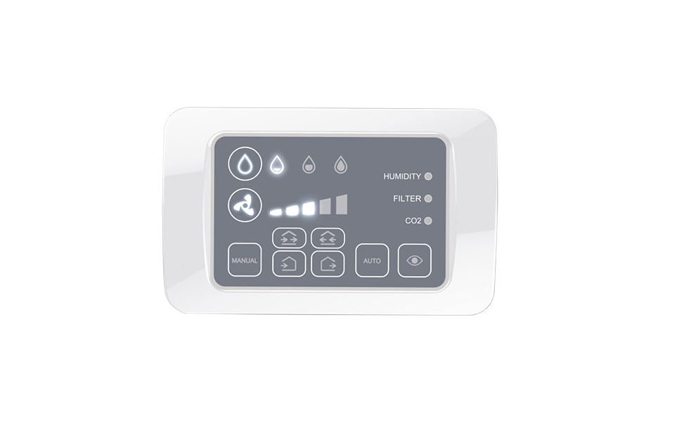Unitate de comanda fara fir (remote panel+CO2 senzor) NovingAIR PR CO2 WIRELESS