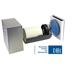 Unitate Sevi160L de ventilatie cu recuperare de caldura pentru pereti subtiri