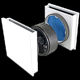 Unitate Sevi160r de ventilatie intre camere