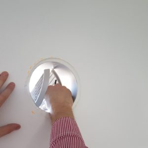 Aspira RF Ecocomfort, montaj grila externa