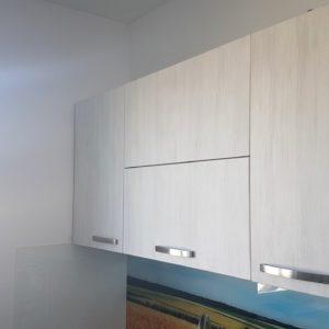Gaura in peretele bucatariei pentru instalare ventilatie.