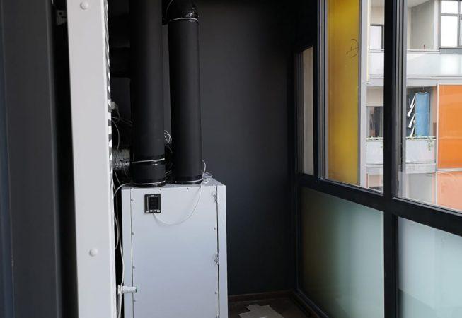 Sistem centralizat de ventilatie in apartament, Komfovent RHP 400