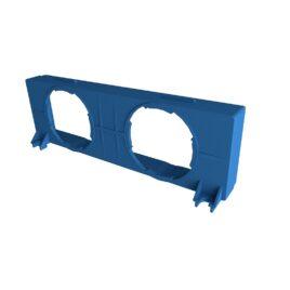 Componenta sistem ventilatie capac cu gauri BLUE GTBL2