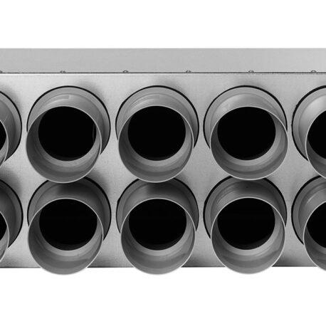 distribuitor-ventilatie-metalic-liniar-izolat-10xdn75-160mm-kmf-face