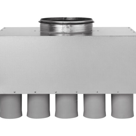 distribuitor-ventilatie-metalic-liniar-izolat-15xdn75-200mm-kmf-front
